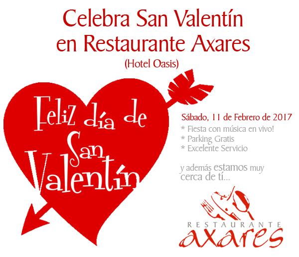 San Valentín en Córdoba- Hotel Oasis